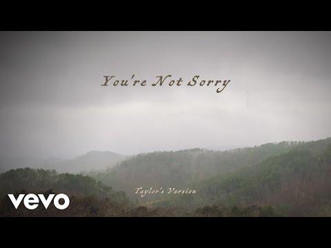 You're Not Sorry lyrics